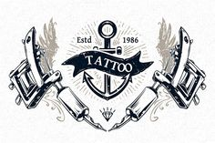 Check out Tattoo Studio Prints by Vecster on Creative Market