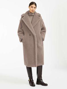 Women's Coats, Jackets, Down Jackets and Blazers Max Mara Teddy Coat, Teddy Bear Coat, Teddy Bear Clothes, Silk Coat, Wool Coat, Fur Coat, Winter Coats Women, Coats For Women, Oversized Mantel