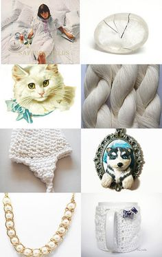 White colors by Inita on Etsy--Pinned with TreasuryPin.com