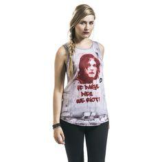 """Top donna """"Daryl Dixon - Graffiti"""" della serie televisiva #TheWalkingDead."""