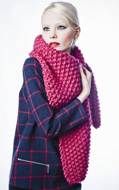Knitting Kits Cucho Scarf WE ARE KNITTERS
