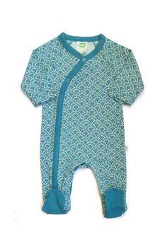 Clothing, Shoes & Accessories Girls' Clothing (newborn-5t) Organic Spotty Kimono Romper...6-12mths
