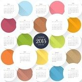 kalender : 2015 Kalendervorlage