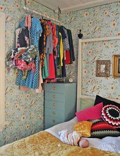 14 Astuces pour gagner de la place dans une petite chambre à coucher