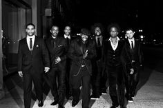 The Roots have been one of my favorite bands for... well, it's been decades now. The lineup has changed, but I like this photo of them from 2010. [DA]