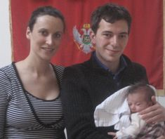 Princess Veronique, Prince Boris and Her Highness Princess Milena Petrovic-Njegos of Montenegro born on 11 Feb 2008