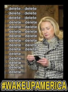 Bad Hillary, Hillary for PRISON. Richard Nixon was missing minutes of tapes. Hillary Clinton missing months of emails. Barack Obama missing a lifetime of all his records. Crooked Hillary, Pray For America, Our Country, Along The Way, Barack Obama, We The People, That Way, Wake Up, Wisdom