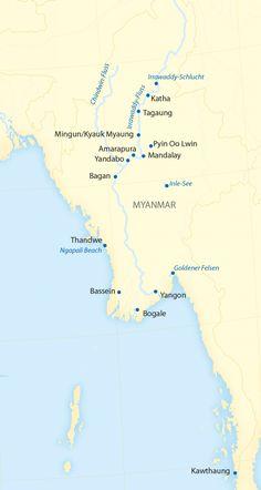 Flusskreuzfahrten in Myanmar 2016
