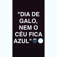 DIA DE GALO TEM TEMPO CARREGADO, COM RAIOS E TROVÕES...