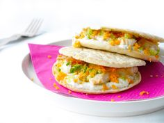 PITA BROODJES RECEPT MET KIPFILET - CHICKSLOVEFOOD.COM