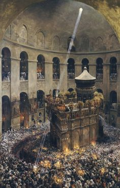 Church of the Holy Sepulchre.This was the church to which the knights of the…