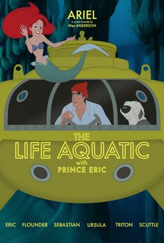 The Life Aquatic with Prince Eric | If Your Favorite Disney Movies Were Written By Wes Anderson