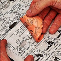 If you used silly putty to copy your favorite comic strips, you've got to sign up at doyouremember.com