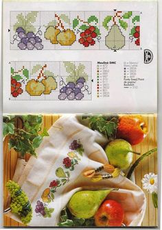 Thrilling Designing Your Own Cross Stitch Embroidery Patterns Ideas. Exhilarating Designing Your Own Cross Stitch Embroidery Patterns Ideas. Cross Stitch Fruit, Cross Stitch Kitchen, Cross Stitch Borders, Cross Stitch Flowers, Cross Stitch Charts, Cross Stitch Designs, Cross Stitching, Cross Stitch Patterns, Learn Embroidery
