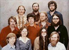 The Microsoft team in 1979.