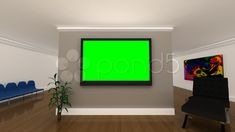 Green Screen Background Interior Office Stock Footage Ad Background Screen Interior Green In