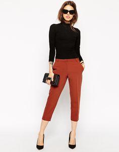 Image 1 of ASOS Crop Trouser
