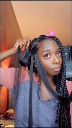 Box Braids Hairstyles For Black Women, Braids Hairstyles Pictures, Twist Braid Hairstyles, African Braids Hairstyles, Braids For Black Hair, Hairstyles With Braiding Hair, Crochet Weave Hairstyles, Natural Braided Hairstyles, Protective Hairstyles For Natural Hair