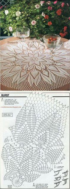 Kira scheme crochet: Scheme crochet no. 2369