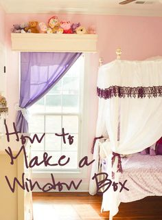 Grinning Like An Idiot: Create your Happiness with DIY | How to Build a Window Box | http://www.grinninglikeanidiot.com