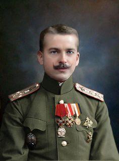 Russian Aviator Pyotr Nesterov
