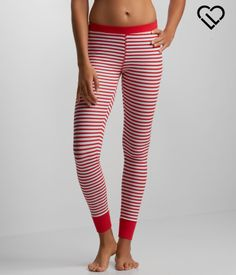 Treat yo'elf to sweet style during the holidays with our Candy Cane Stripe Leggings!