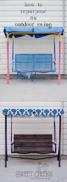 Outdoor Swing Re-do | Utah County Photographer