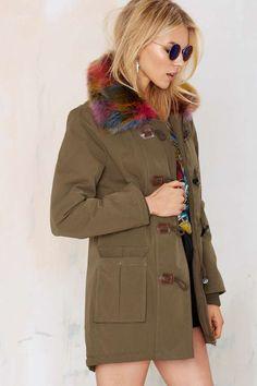 Nasty Gal Outsider Faux Fur Parka - Okay Focus | Faux Fur | Jackets + Coats | Cyber Monday Jackets