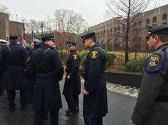 #GTPD Officers are attending funeral for fallen #PPD Brother #OfficerRobertWilson- #PhillyPolice #ThinBlueLine #LESM