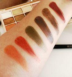 makeup revolution soph x eyeshadow swatches
