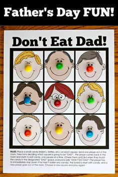 Don't Eat Dad Game!