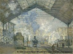 Claude Monet,The Saint-Lazare Station,© RMN-Grand Palais (Musée d'Orsay) / Hervé Lewandowski