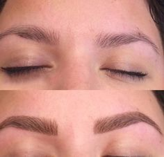 Microblading Before and After : Permanent Cosmetics Eyebrow - Before and After P., Microblading Before and After : Permanent Cosmetics Eyebrow - Before and After P. What Is Microblading, Microblading Eyebrows, Permanent Makeup Eyebrows, Eyebrow Makeup, Halloween Makeup, Cosmetics, Eyes, Beauty