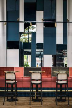 Waldeck Bar Amsterdam by Framework   Yellowtrace