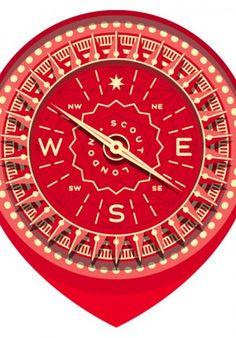 Compass #flatdesign #flat #illustration