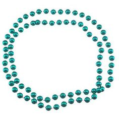 Green Gameday Beads $0.50