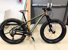 buy Upgraded Cannondale Fat CAAD 2 Fat Bike - Rockshox... Boys Mountain Bike, Mountain Biking, Fat Bike, Montague Paratrooper, Cannondale Bikes, Fat Man, Touring, Cool Pictures, Wheels