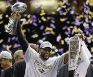 """Ray Lewis ends his career """"On Top"""""""