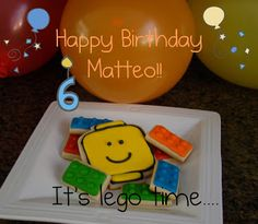 Lego Cookies and templates