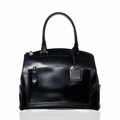 Reed Krakoff Uniform Hard Satchel. A new Krakoff shape with its zip closure. With this satchel, one looks like a woman in charge.