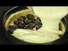 Творожный пирог с черносливом - Рецепты от Со Вкусом - YouTube