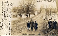 my hometown way back when Carroll County, My Old Kentucky Home, Snow, History, Brother, Walls, Outdoor, Outdoors, Wall