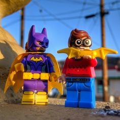 """Don't be a Dick"" Dick Grayson annoying Batgirl Lego Photography, Various Artists, Batgirl, Bowser, Fictional Characters, Fantasy Characters"