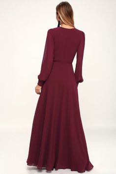 9d27cc4f74a 33 Amazing Burgundy Dress Long images in 2019