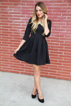 LBD + Peter Pan Coller :: Gal Meets Glam :: A Style and Beauty Blog by Julia Engel :: Page 101