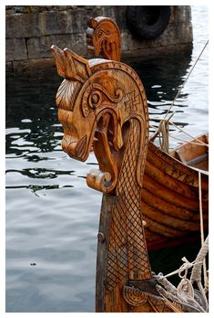 Pagan - Viking — bloodedcelt:   Viking ship by petteram