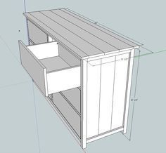 Ana White   Build A Bedroom Dresser   Free And Easy DIY Project And  Furniture Plans