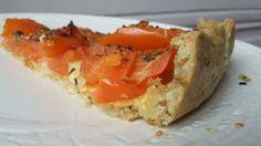 Pâte à tarte à base de flocons d'avoine et huile d'olive // sans beurre