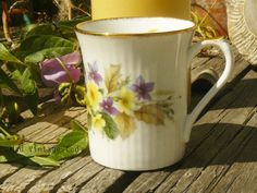 Royal Heritage Bone China Cup Mug Coffee Tea by VintageMadLady, $15.00