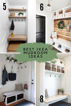 Ikea Mud Room, Mudroom Cabinets, Mudroom Closet, Mudroom Remodel, Pantry Closet Design, Mudroom Design, Best Ikea, Ikea, Ikea Farmhouse